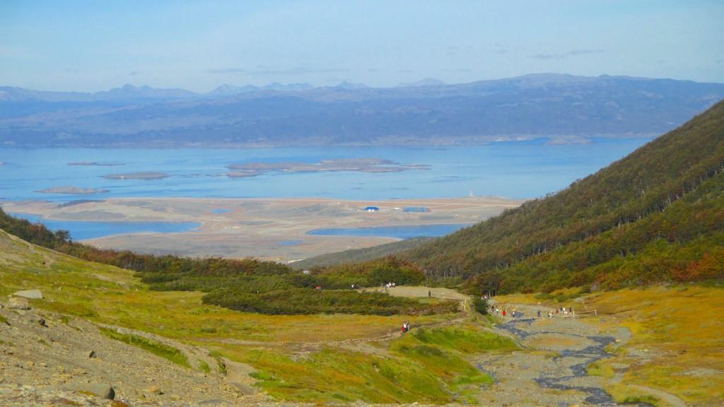 Glaciar Martial Pretty View with Trail
