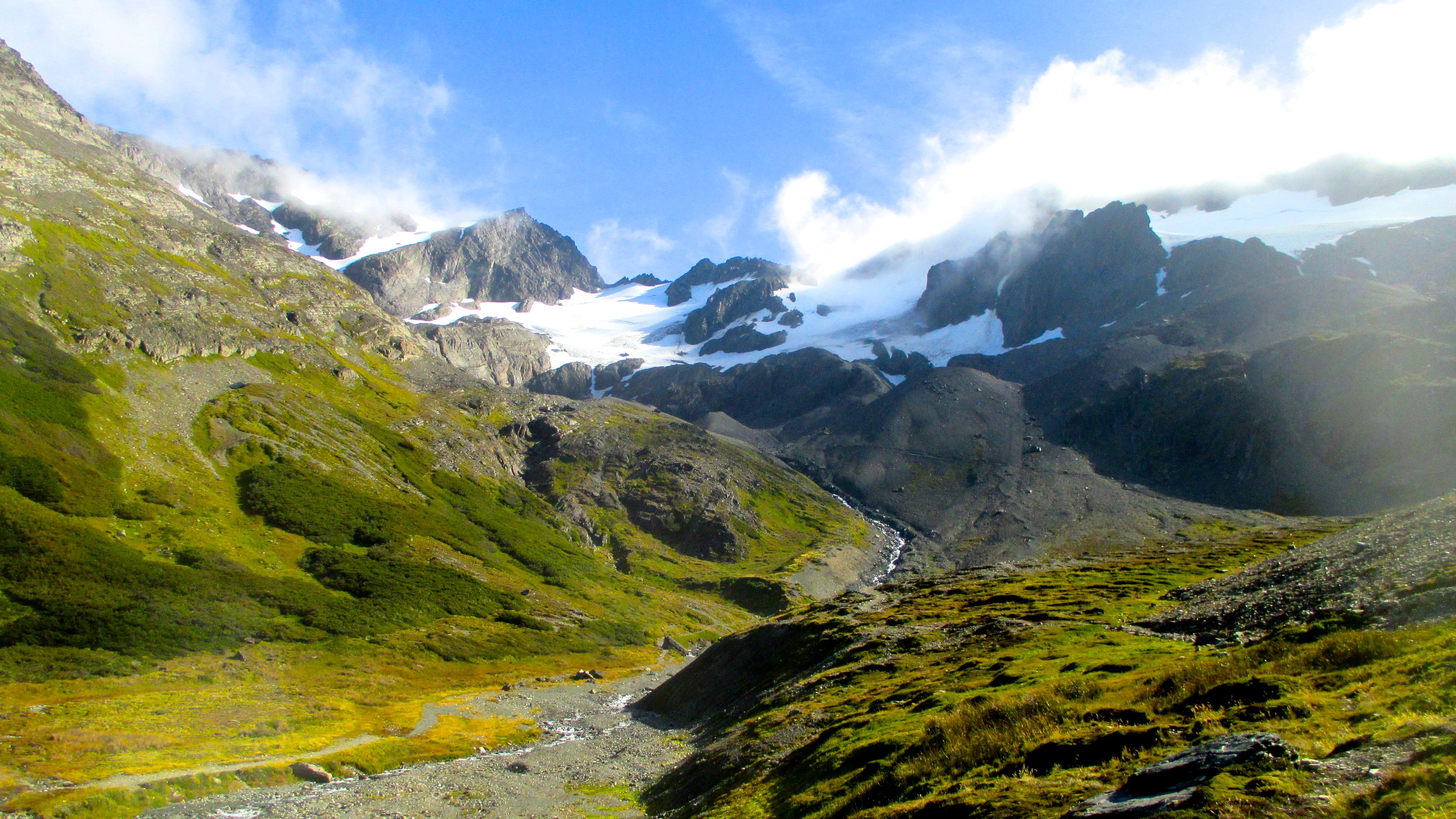 Martial Glacier: A Great Hike for Beginners