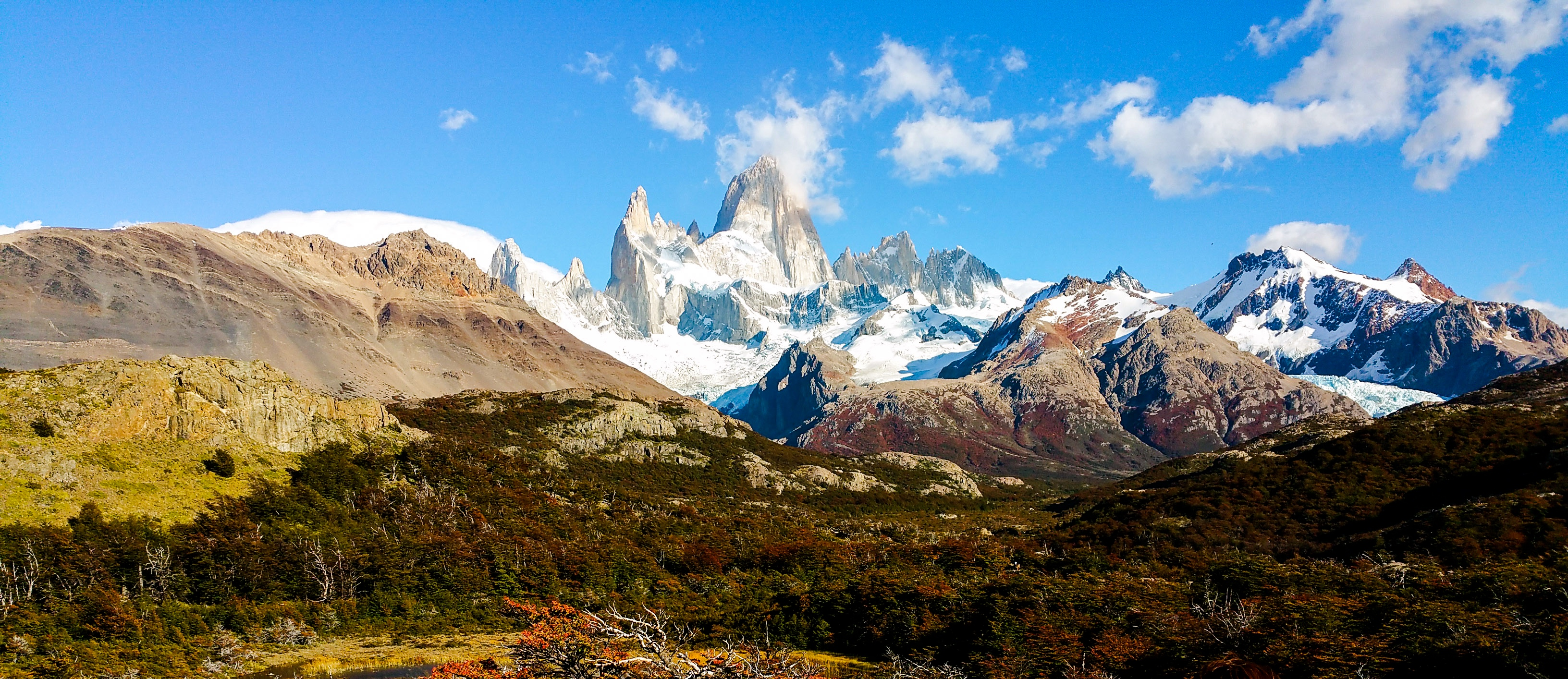Fighting Forceful Winds at Mount Fitz Roy