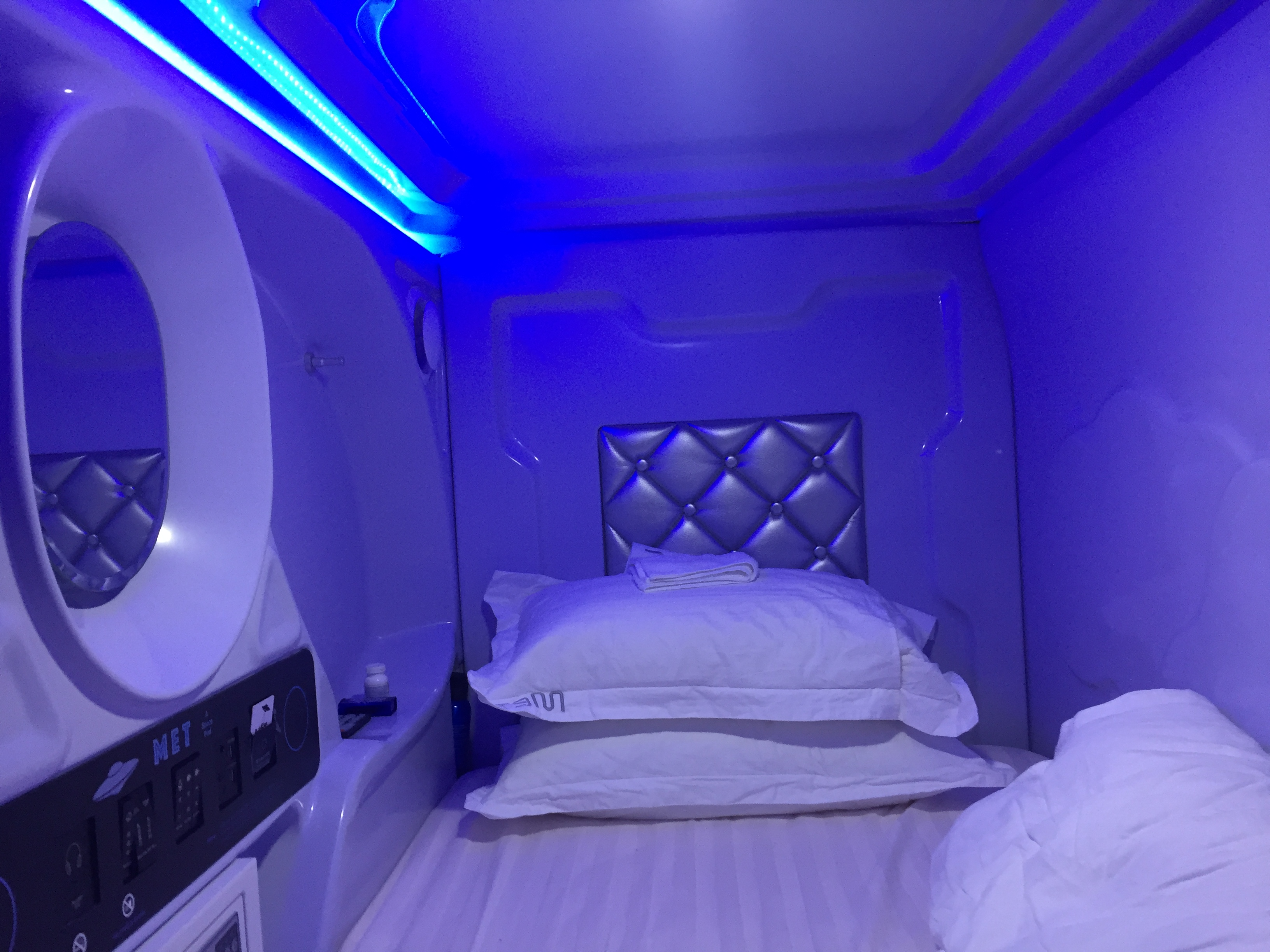 My Weekend in a Space Pod