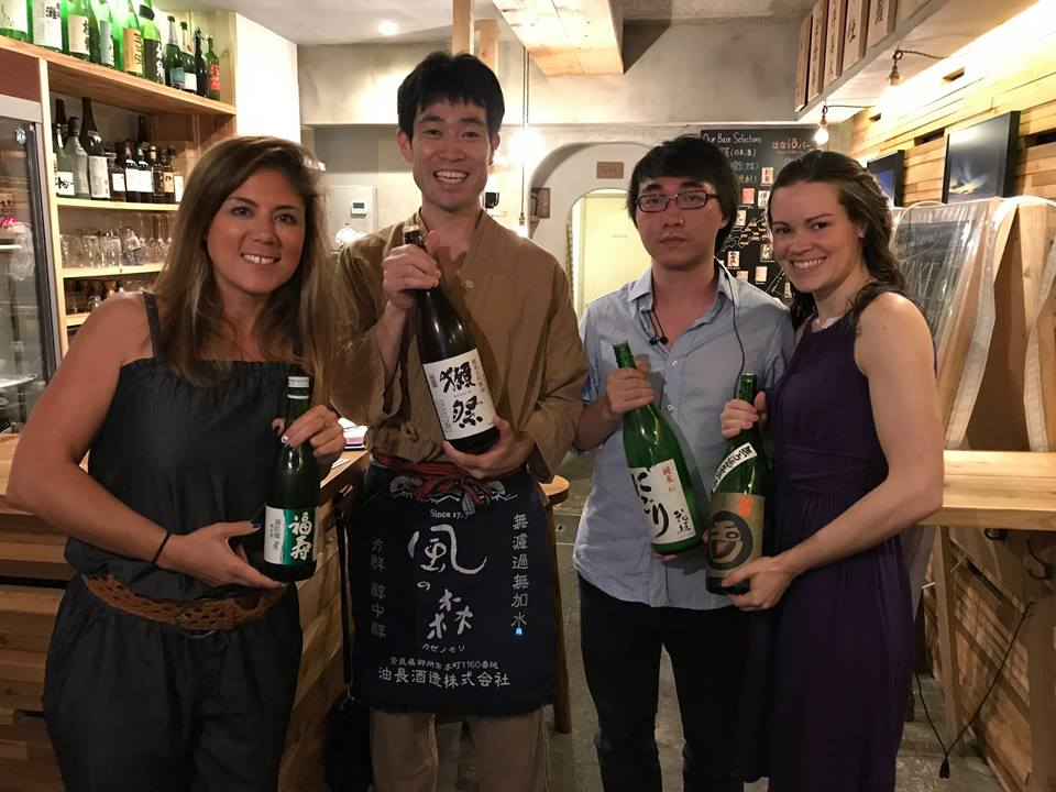 The Best Sake Class in Osaka